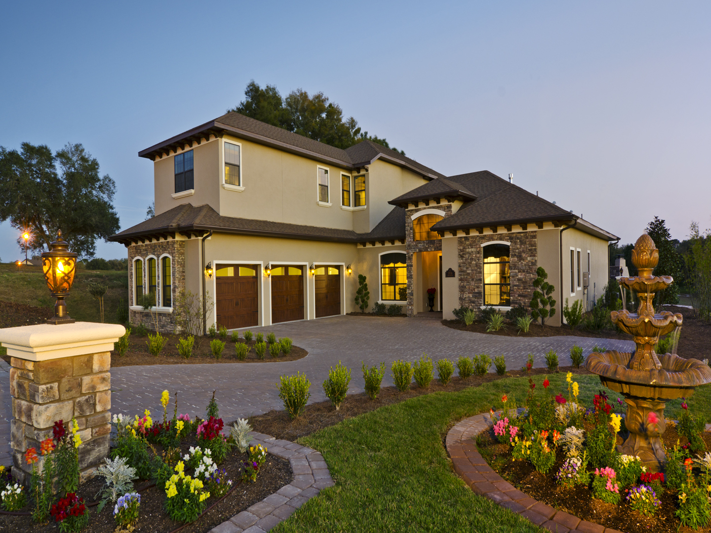 Harbor Hills Custom LEED Front