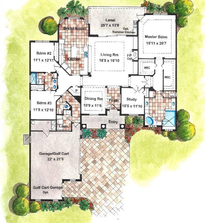 Arrezzo II Floorplan