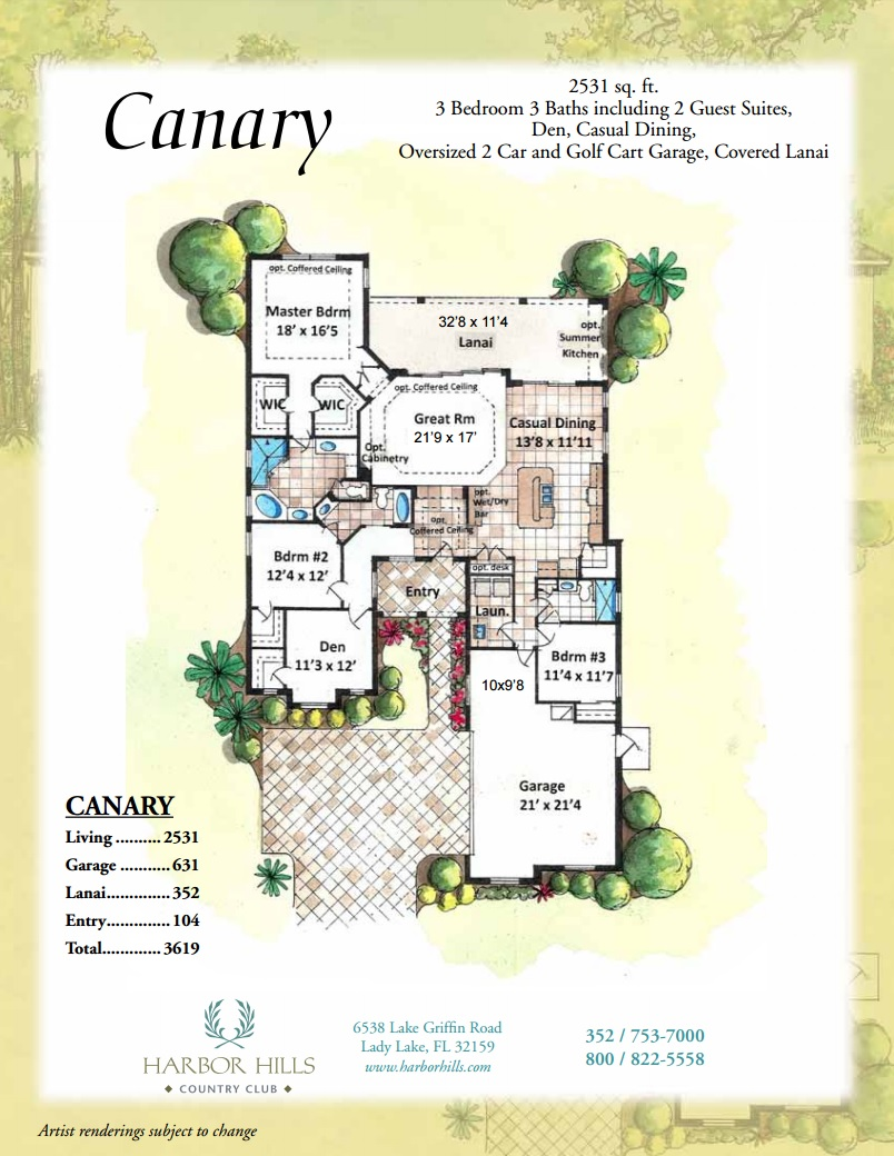 Canary Floorplan