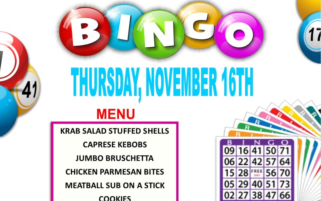 Ladies Bingo Night
