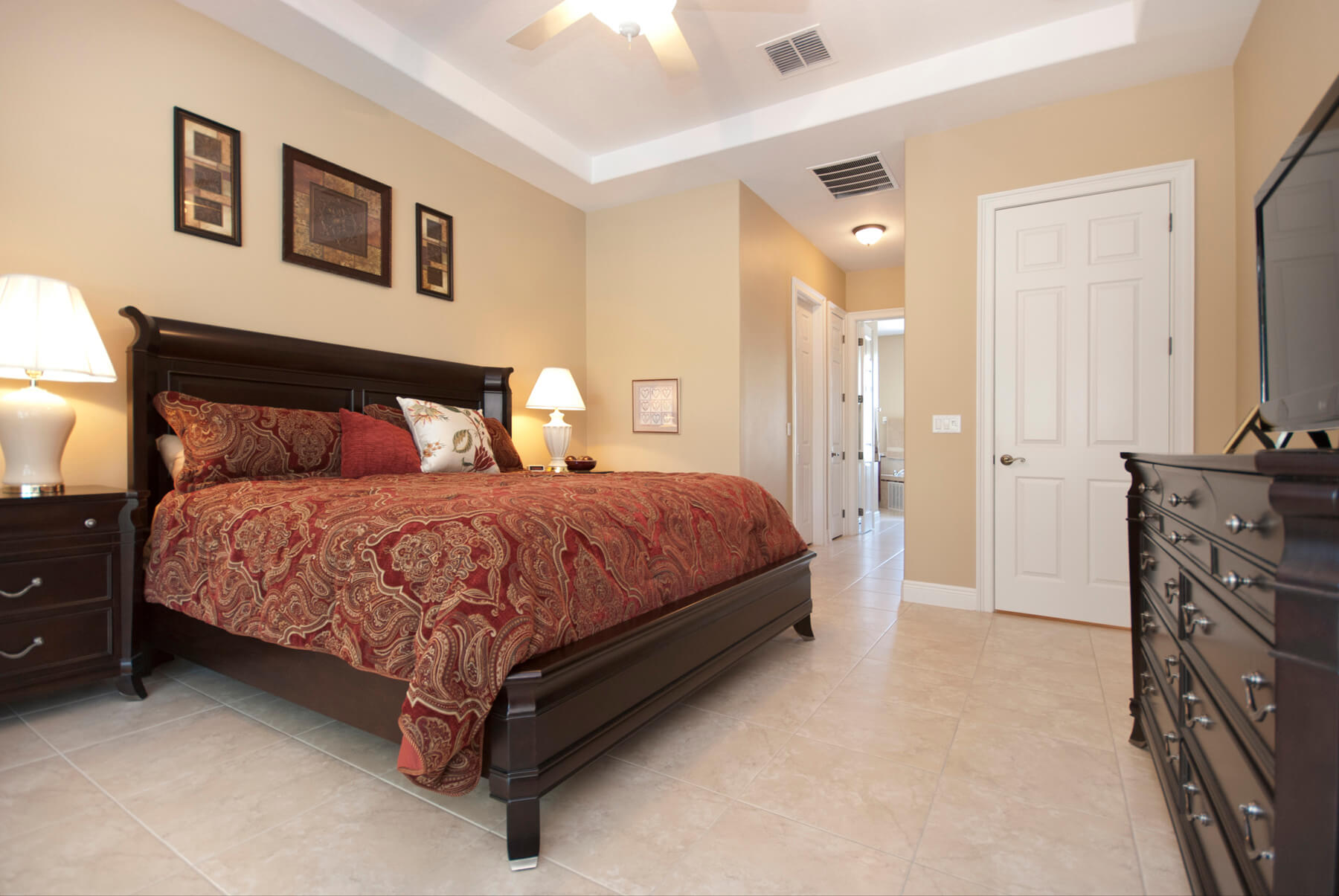 Harbor Hills Toscano_Bedroom